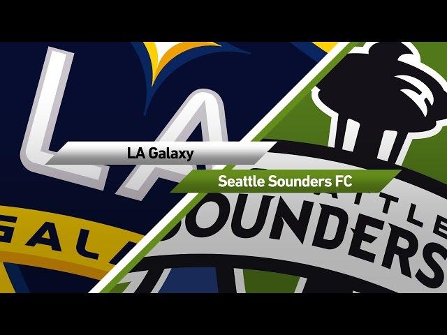 Highlights | LA Galaxy vs. Seattle Sounders FC | April 23, 2017