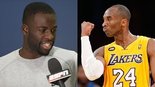 Draymond Green Explains How Kobe Helped Him Stop Kicking People in the Nuts