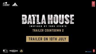 Batla House Trailer Countdown 2:John Abraham,Nikkhil Advani, Mrunal Thakur |Trailer Out On 10th July