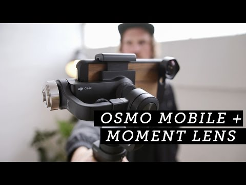 Moment: Osmo Mobile + Moment Lenses + iPhone 7 Plus