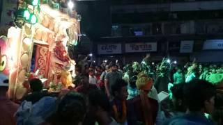 Gauri kripa dhumal{D÷2} raipur ganpati ganesh bappa jhaki 2016