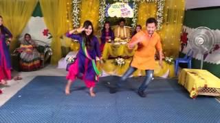 Amature holud dance (sadaf's gaye holud)