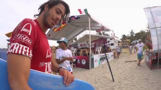 IBA Bodyboarding Pierre Louis Costes - The AGIT/TURBO ZICATELA PRO 2011