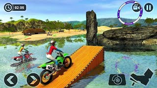 Beach Water Surfer Bike Racing (by Tech 3D Games) Studios Android Gameplay [HD]