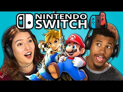 TEENS REACT TO NINTENDO SWITCH TRAILERS