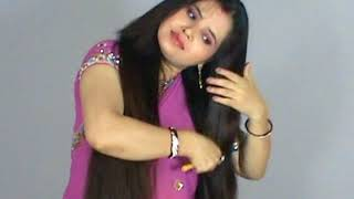 Indian Long Hair Woman with Amazing Beautiful Hair