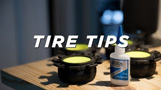 RC TIRE TIPS & TRICKS || How to mount, 2.2 vs 61mm, tread selection