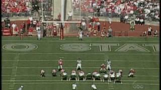 Blocked FG/TD, John L. Smith's meltdown - Michigan State 2005