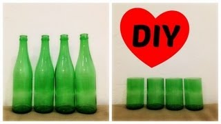 Easy Bottle Cutting Tutorial Video | Bottle Cutting 101 | How to Cut Bottles