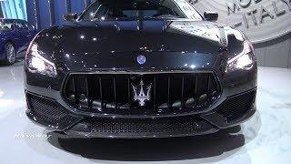 2018 Maserati Quattroporte GTS - Exterior And Interior Walkaround - LA Auto Show 2017