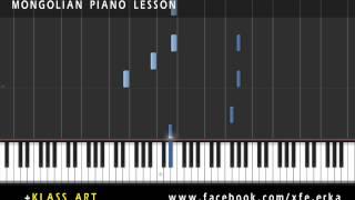 Teeya - Hosuudad Piano Lesson, Synthesia Tutorial