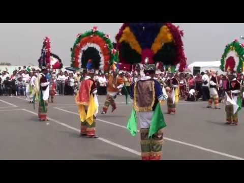 1a. Guelaguetza Basilica de Guadalupe 7 8 Danza de la Pluma