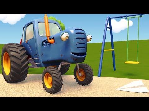 Трактора мультики с новым годом