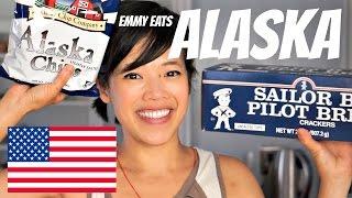 Emmy Eats ALASKA - tasting Alaskan treats