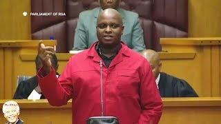 Must Watch - Floyd Shivambu Lectures Parliament On National Treasury