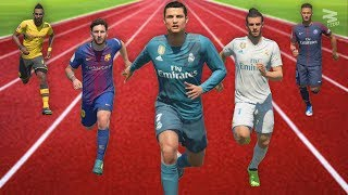FIFA 18 Speed Test   Fastest Players In FIFA
