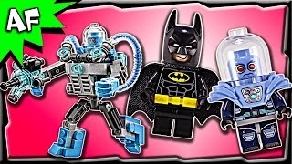 Lego Batman Movie Mr. FREEZE Ice Attack 70901 Stop Motion Build Review
