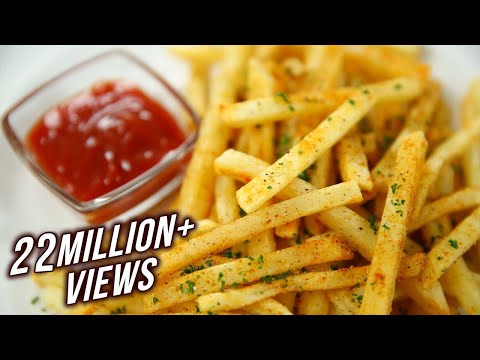 How to Make Crispy French Fries Recipe Homemade Perfect French Fries Recipe Varun Inamdar