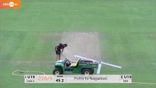 England U19's vs India U19's