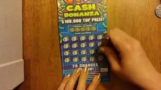 4 X $5 Wild Cash Bonanza ~ Texas Lottery Scratch Off