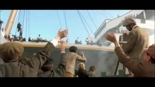 Titanic Scene  - Leaving the Southampton Port
