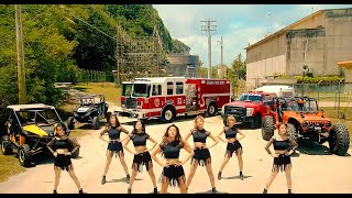 AOA - Good Luck Music Video ORIGINAL WITH TOYOTA AND JIMIN BRA