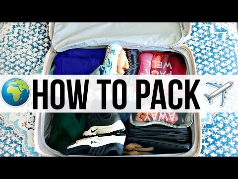 How To Pack Smart Traveling Advice