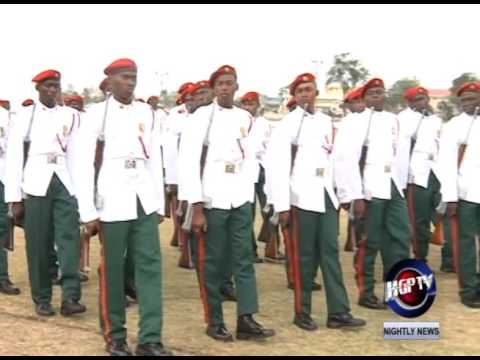 GDF CONDUCTS COMMISSIONING PARADE