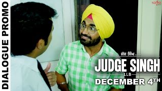 Dialogue Promo 2 - Judge Singh LLB - Ravinder Grewal - Latest Punjabi Movies 2015
