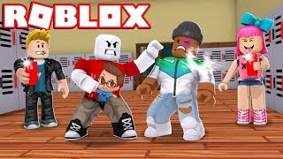 A ROBLOX BULLY STORY - First Day of School