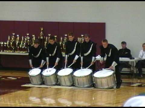 MCHS Drumline - Blast in the Draft 2009 Exhibition