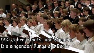 550 Jahre Staats- und Domchor - Die singenden Jungs aus Berlin (RBB 10.12.2015)