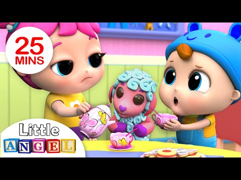 Let s Say Please and Thank You Good Manners Song Nursery Rhymes by Little Angel