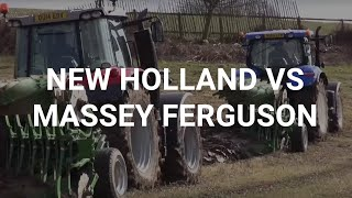 New Holland vs Massey Ferguson Tractor Test