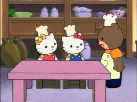 Hello Kitty odcinek 12 A bajki Pieczemy ciastka PL