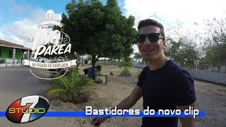 Banda 100 parea BASTIDORES DO NOVO CLIP no situ de Willian