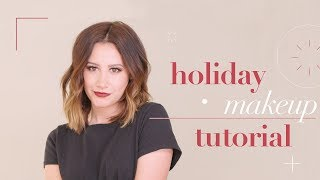 My Holiday Makeup Tutorial | Ashley Tisdale