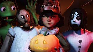 [FNAF/SFM] My Dear Friend Slendrina Granny & Olivia Part 3 Halloween  (Sister Location Special)