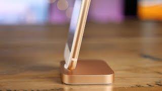 Hands-on: Gold Lightning Dock for iPhone 8!