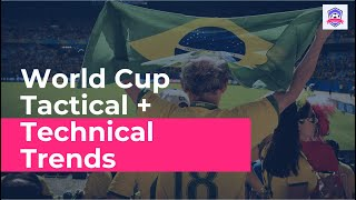 Tactical + Technical Trends of the 2014 World Cup + What We Can Expect to See in the 2018 Edition