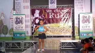 Catwalk Philippines Unlimited -Aimee Joi Y.Hosena  (5 yrs old Kid Model)