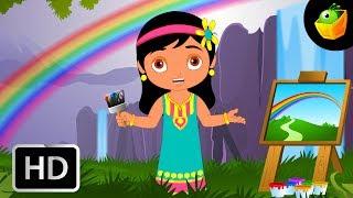 Vanavil (Rainbow)   Chellame Chellam   Tamil Rhymes For Kutties