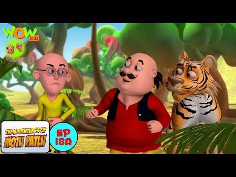 Motu Patlu & Tiger - Motu Patlu in Hindi - 3D Animation Cartoon for Kids -As seen on Nickelodeon