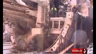 Iran made 7th metro line under construction, Tehran city هفتمين خط مترو شهر تهران دردست ساخت ايران