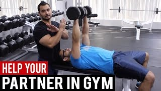 HELP your PARTNER in GYM