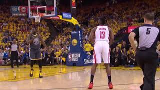 James Harden is scared to shoot a wide open 3 vs Golden State!