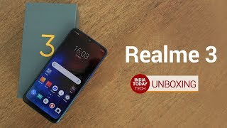 Realme 3 Unboxing and Quick Review | India Today Tech