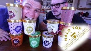 Halo Top Review! ( ALL 10 NEW Flavors)