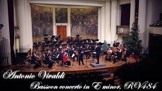 (4K) Vivaldi - Bassoon Concerto in E minor, RV 484 performed by