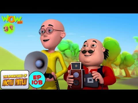 Photography Competition - Motu Patlu in Hindi - 3D Animation Cartoon for Kids -As on Nickelodeon